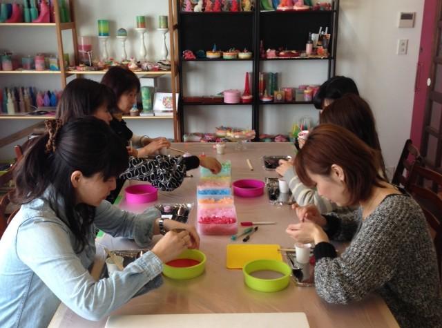 手作りキャンドル教室大阪新世界