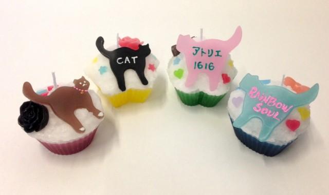 猫キャンドル手作り体験