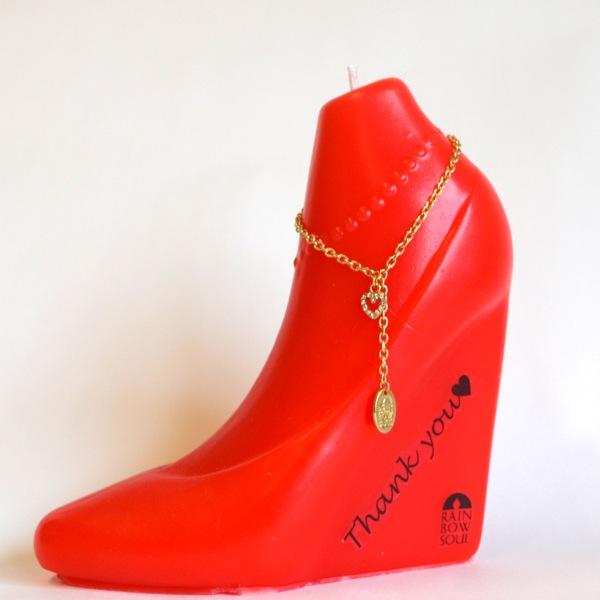 オーダーメイド靴キャンドル