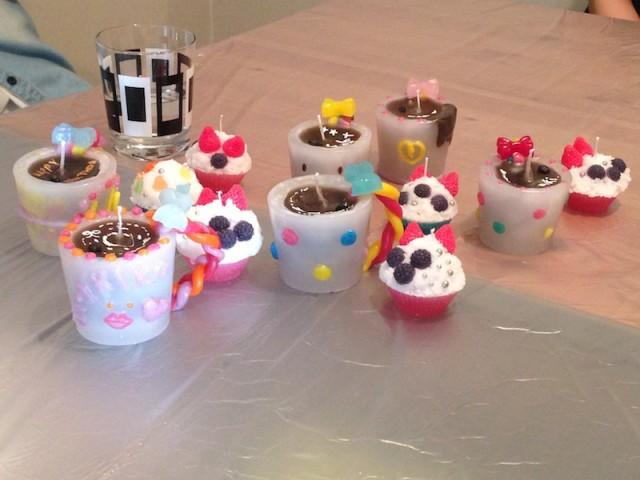 コーヒーカップキャンドル教室