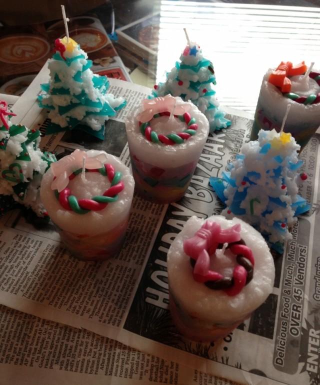 クリスマスツリーキャンドル教室大阪