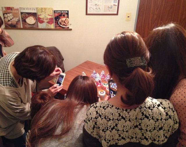 クリスマスキャンドル女子会
