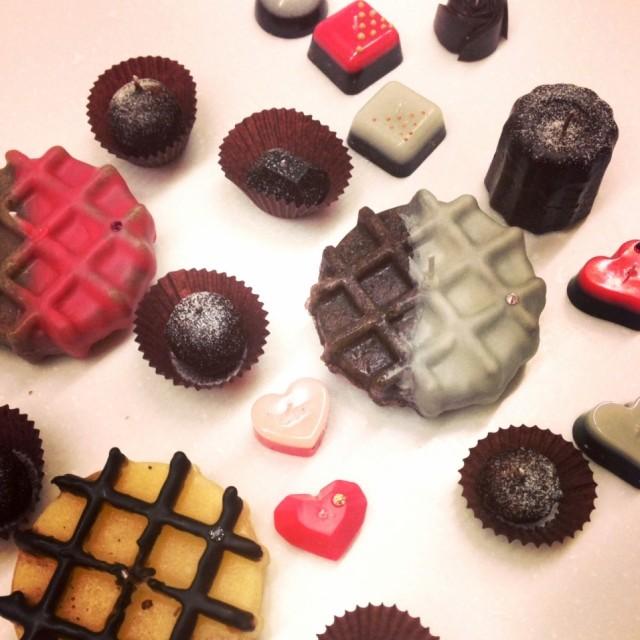 チョコレートキャンドルレインボーソウル