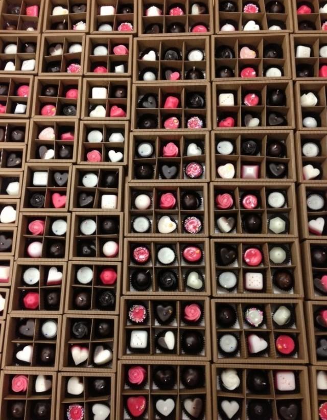 チョコレートキャンドル