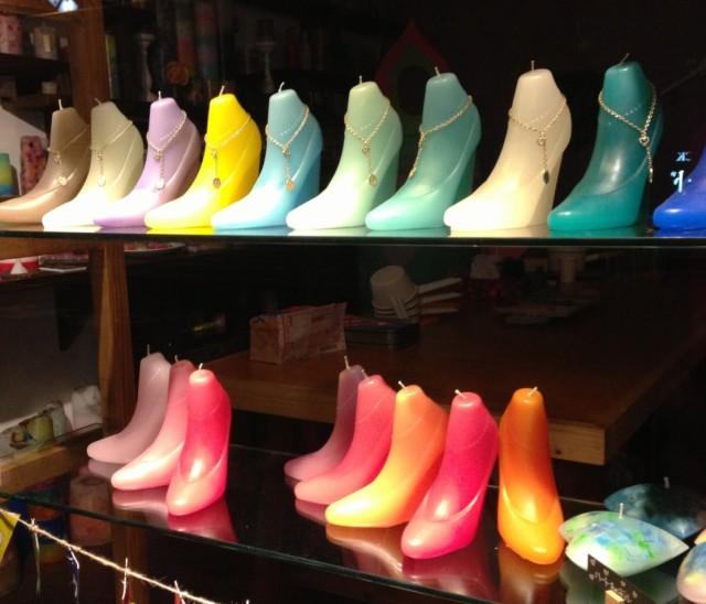 靴キャンドルレインボーソウル