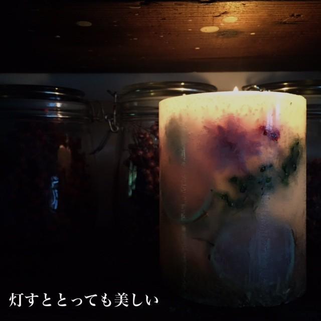 ボタニカルキャンドル体験大阪