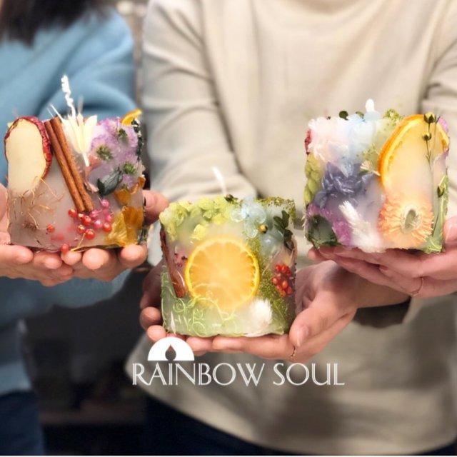 ボタニカルキャンドル手作り体験大阪