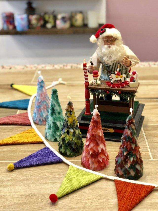 クリスマスツリーキャンドルワークショップ大阪